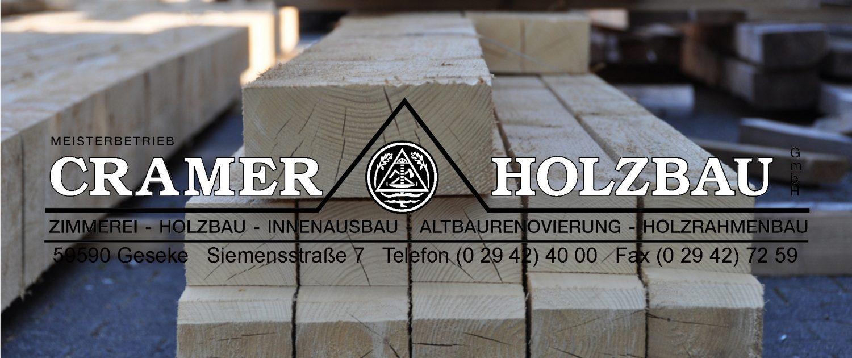 Cramer Holzbau GmbH Geseke - Start